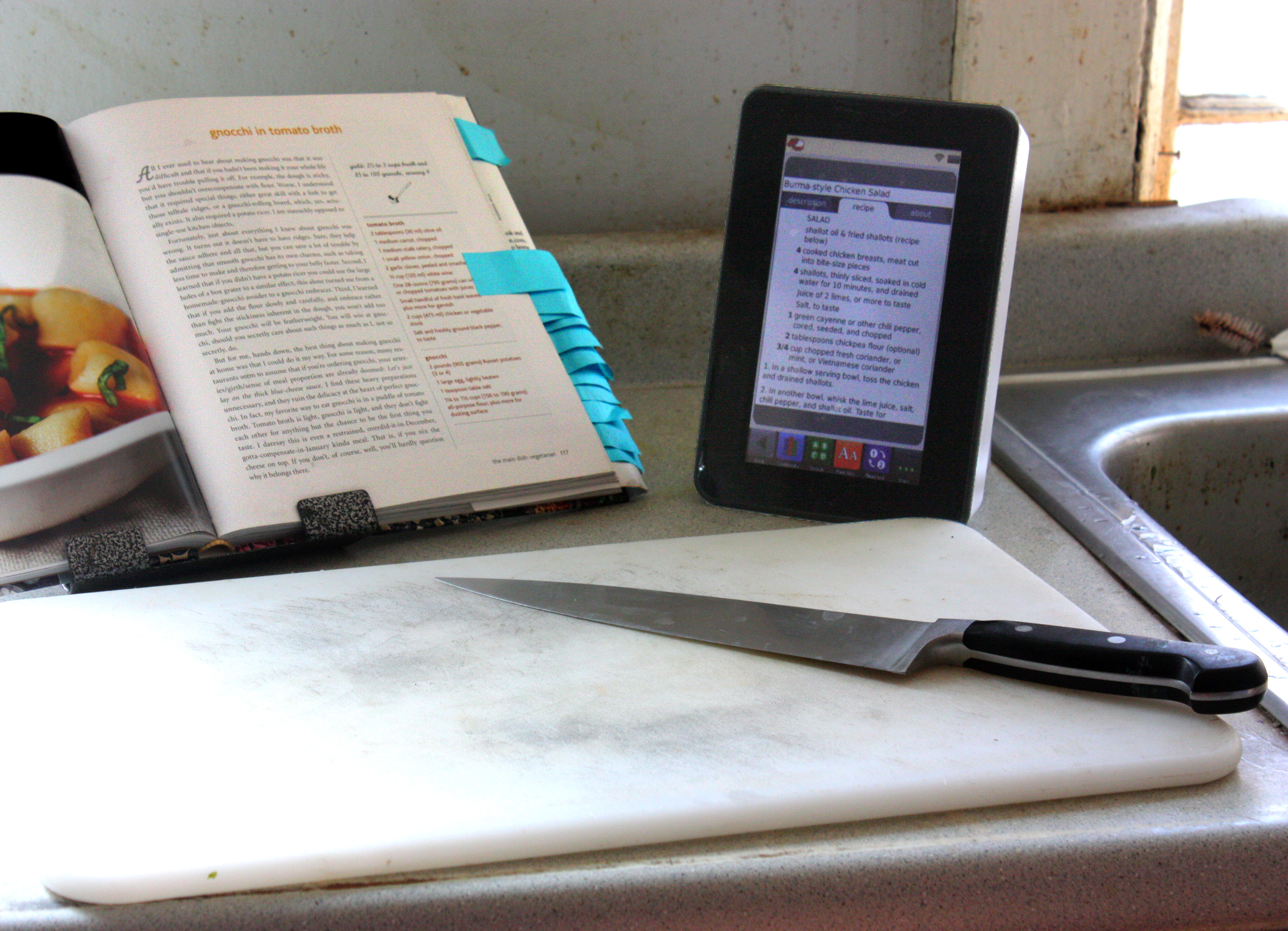 paper recipes vs electronic recipes a review of the key