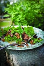 Grilled Mushroom salad